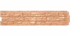 Фасадная панель Grand Line ЯФАСАД Крымский сланец (Янтарь), 1,53м