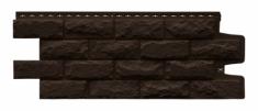 Фасадная панель GRAND LINE Колотый камень (Коричневый), 1,13м